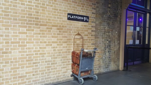 ロンドン キングクロス駅