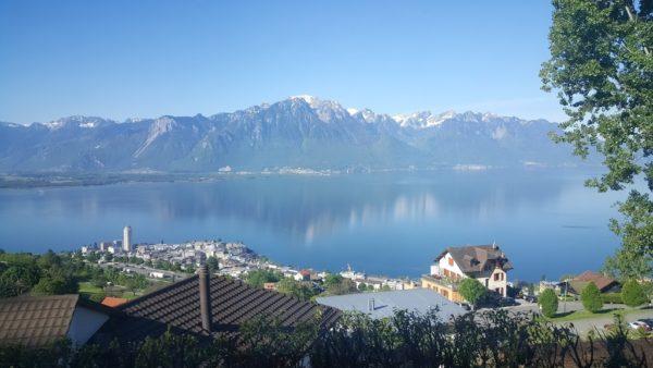 スイス レマン湖