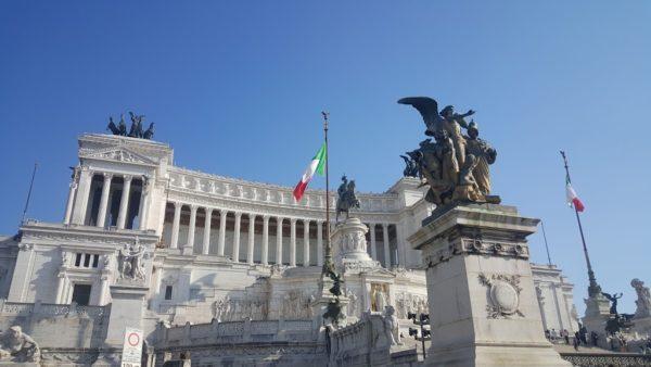 ローマ ヴィットリオ・エマヌエーレ2世記念堂